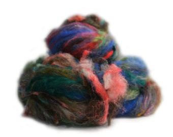 Fibres en folie n 496 handcarded batts fibers