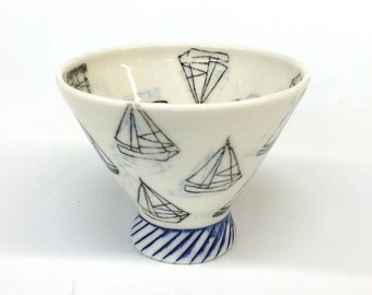 Sailboats Cocktail Cup