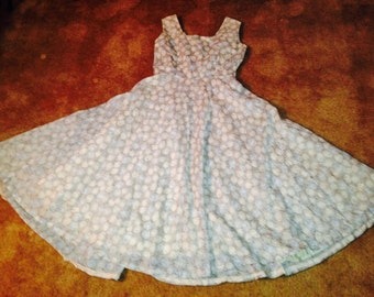 Authentic 50's Vintage Party Dress with Rhinestones -Rockabilly VLV
