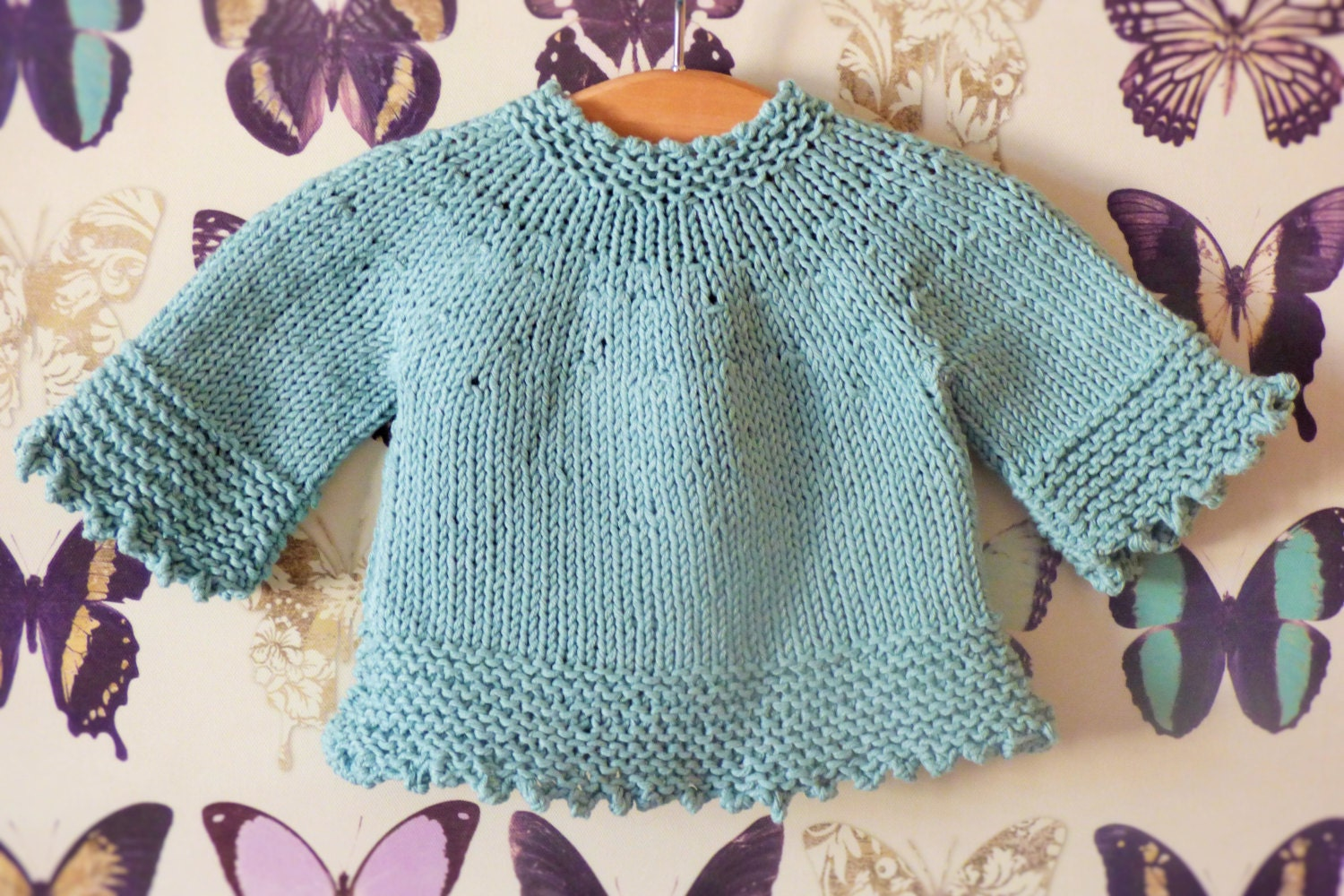 Knitting Pattern For Tunic Jumper : Knitting Pattern Tunic Sweater Tilly a Seamless Top Down