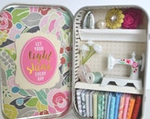 Tiny Tin Sewing Room ~ Let You Light Shine Every Day