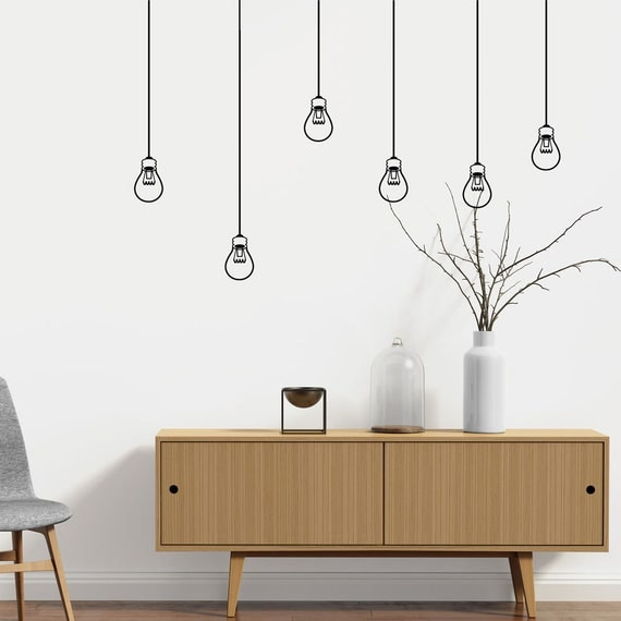Light Bulbs - Wall decal