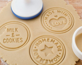"Tovolo Cookie Stamps 3 Set ""Homemade"""