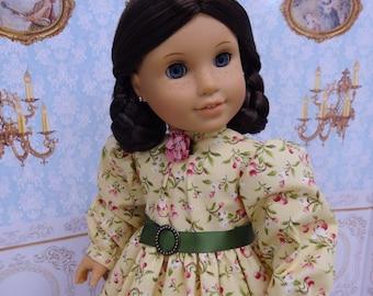 Prairie Beauty - Civil War or Prairie dress for American Girl doll