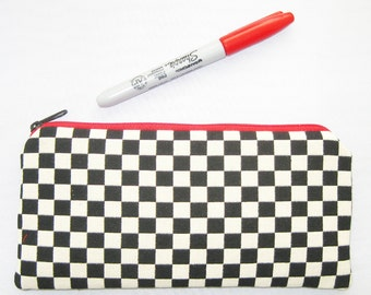 Ready to Ship - Zipper Case - Checker by Alexander Girard - Maharam Fabric - Made in USA by UPSTYLE