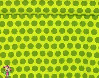 Green pixie 1 yard cotton lycra knit