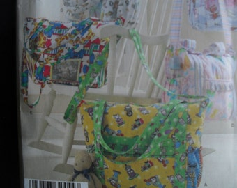 Diaper Bag CarryAll Bags Simplicity Craft Pattern New Factory Folded