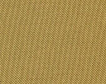 ORGANIC Cotton Duck Canvas Fabric HONEY GOLD