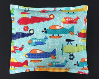 Childrens Corn Bags, Cold Pack, Corn Heating Pad, Bed Warmer, Microwavable  Corn Bag - Airplanes