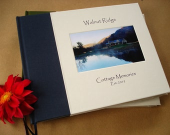CUSTOM Vacation Home Guest Book · Air BnB Guest Book · Gift for Vacation Home · Gift for Cabin · Custom Guest Book · Beach House Guest Book