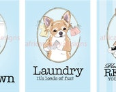 Reserved - Chihuahua Prints - 5x7 Sizes