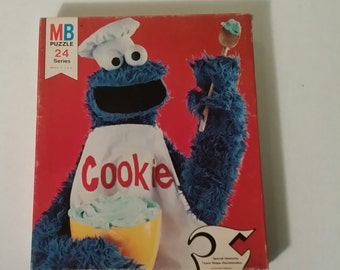 Sesame street cookie monster puzzle
