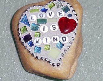 "Love Rocks:  ""Love is Kind"""