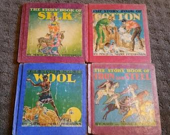 Set of 4 books by Maud and Miska Petersham
