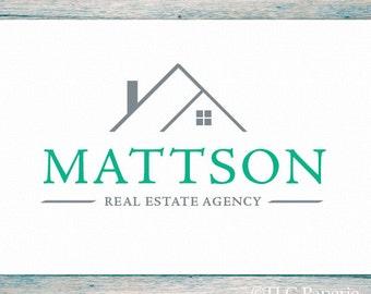 Realty Logo, Custom Logo,  Real Estate Logo, Business Logo,  Realtor Logo, Contractor Logo,  Interior Designer Logo, House Logo