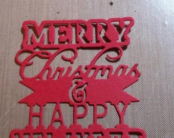 Christmas Tags 5 to a set