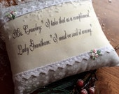 Downton Abbey - Lady Grantham and  Mrs Crawley Decorative Pillow