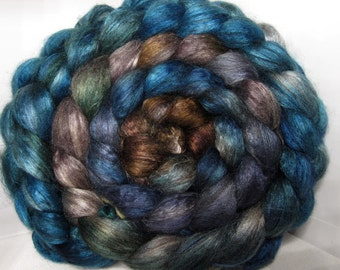 Yak Bombyx Silk 50/50 Roving Combed Top - 5oz - Sonoma Song 2