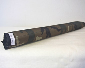 Olive Camo Top Tube Bicycle Frame Pad