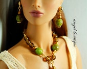 """Fashionable Y-Necklace fits 12 and 16"""" dolls"""
