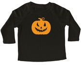 Halloween Pumpkin Long Sleeve Shirt for Toddlers - Halloween