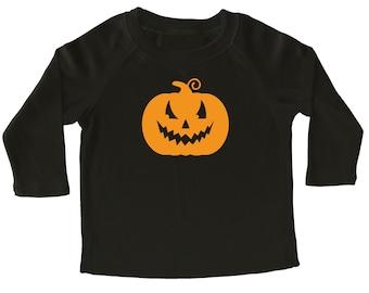 Halloween Pumpkin Long Sleeve Shirt for Toddlers - Halloween