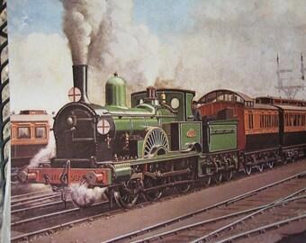 Large Color Train Print