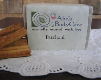 Patchouli Natural Rainwater Soap 6 oz.