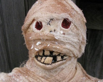 Fred the Paper Mache Mummy