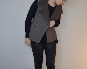 STOCK Hemp and Organic Cotton Fleece Vest