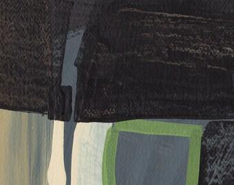 One of a Kind Gift, Original Artwork, Contemporary Wall Art, Original Abstract Art, Abstract Collage, 5x7