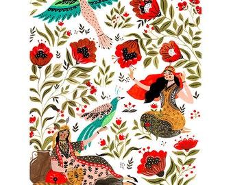 Scheherazade Tales Art Print
