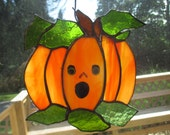 Stained Glass Pumpkin
