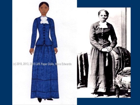 Harriet Tubman Paper Doll