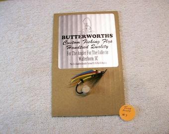 Full Dressed Atlantic Salmon / Steelhead Fly / Pattern Jock Scott / 2/0 Hook No9