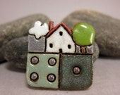 MyLand - Five - Collectible 3x3 cm or 1.2x1.2 in. puzzle in stoneware