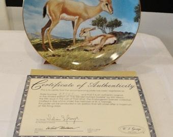 The Slender-Horned Gazelle Endangered Species Collection 1990