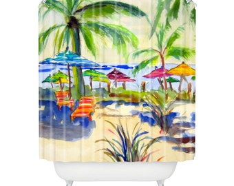 Caribbean Time Shower Curtain