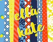 Buy2Get1Free with Code XMASINJULY! Ella Kate Digital Paper Pack (Instant Download)