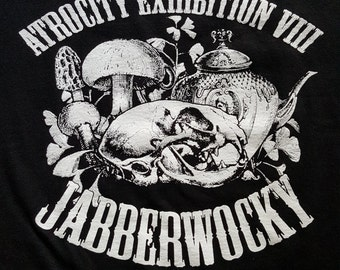 Morose & Macabre's Atrocity Exhibition 2016 tee - LARGE