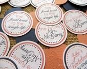 Bridal Shower Table Decorations, Bridal Shower Table Confetti, Bridal Shower Decorations, Hen Party Decor, Bachelorette Party, Choose Colors