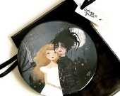 30% Off Halloween Sale - Edward Scissorhands - Pocket Mirror