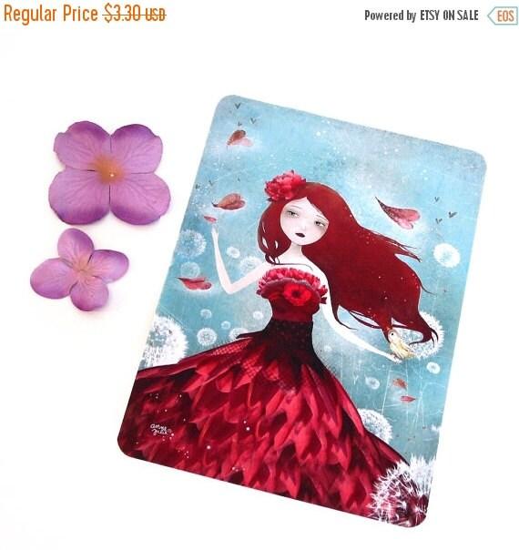 30% Off Halloween Sale - The Flower Fairy - Postcard