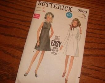 1970's Uncut - Dress Pattern - Butterick5506