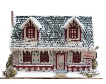 Complete Kit - Quarter Inch Scale Santa's Workshop
