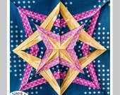 Star Gazing Complete #227 - 5 Patterns in 4 Sizes - Paper Pieced Quilt Pattern