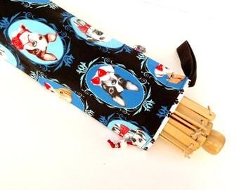 Yarn Swift Cover Yarn Winder Drawstring Padded Bag - Dapper Doggies