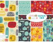 FAT QUARTER Bundle - What's Cookin'? 15 Fat Quarters, Allison Cole, Camelot Fabrics, Designer Cotton Quilt Fabric, Quilting Fabric