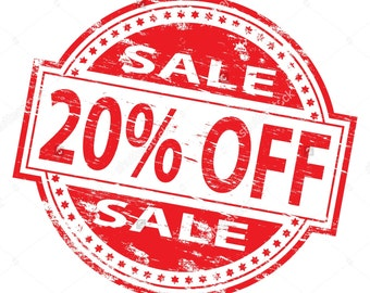 MONTHLY SALE - Everything on SALE! Use Coupon Code MAY20 for 20% off! Minimum purchase required (Do not purchase this listing!)