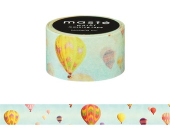 Mark's Maste Mini Washi Masking Tape - Hot Air Balloon - 2015 Nature
